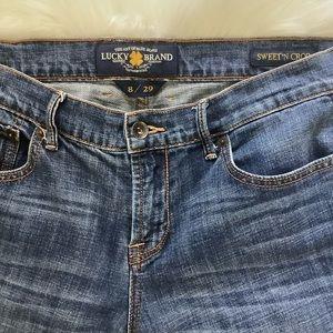 Lucky Brand Sweet N Crop Jeans